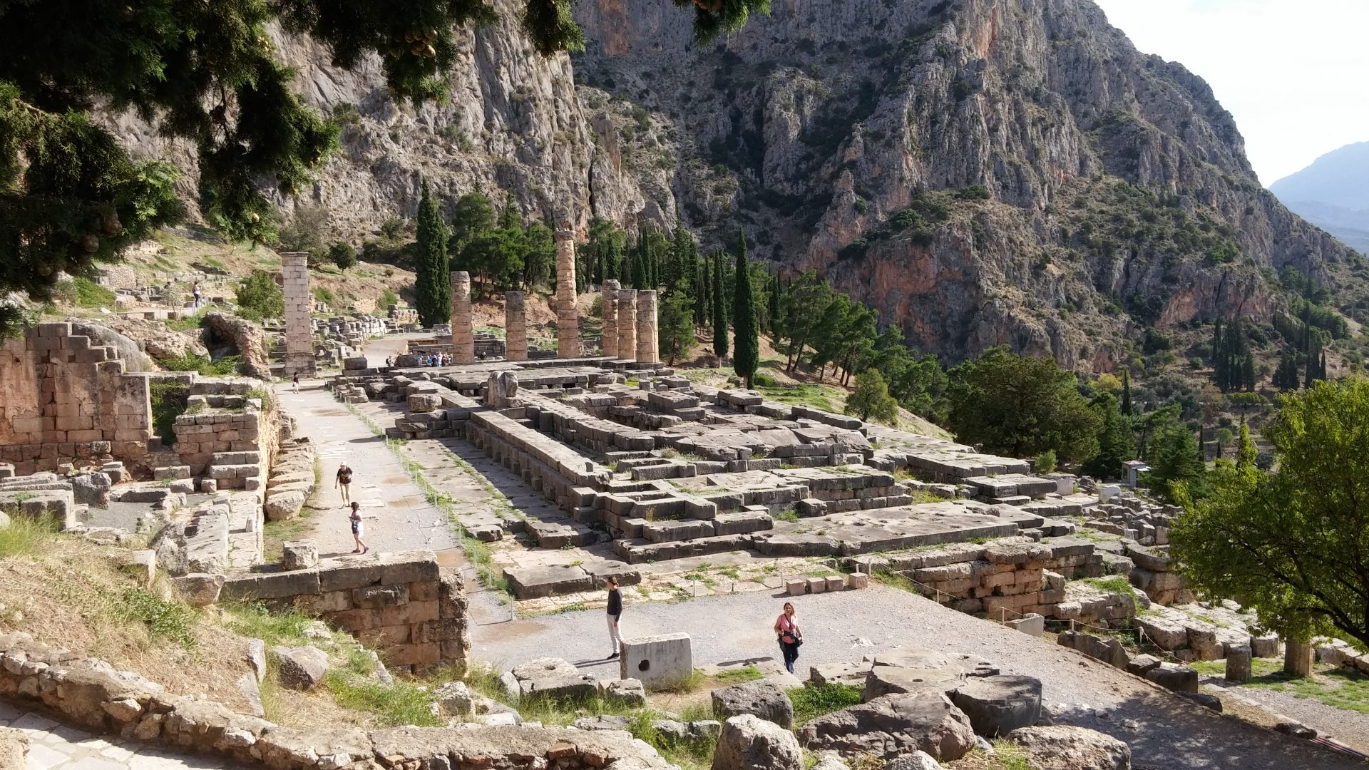 Touring Antiquity