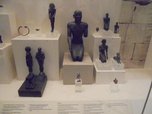 Copper Pharoahs and Etheopians Athens Museum